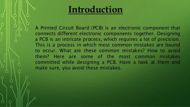 7 Design Mistakes To Avoid In Your Hall: 7 Common Mistakes To Avoid In The PCB Design Process
