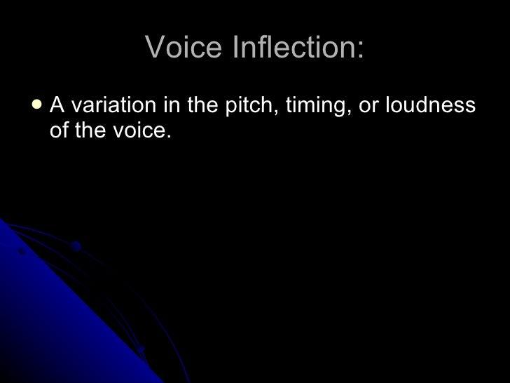 Presentation Skills: Voice