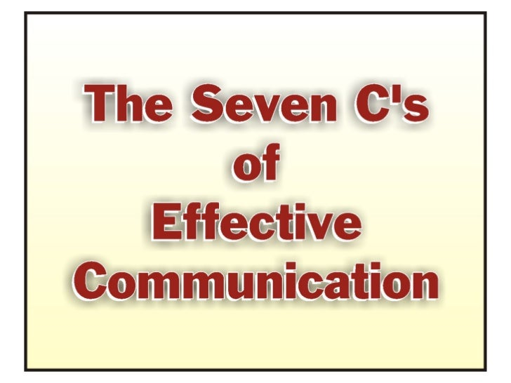 Term paper on effective communication