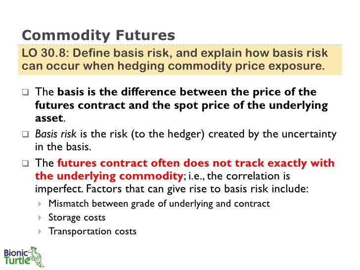 63 commodity futures lo 308 define basis