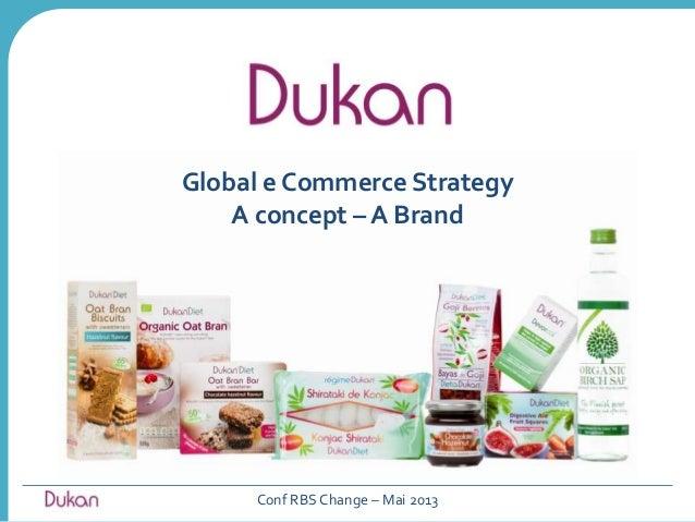 Global e Commerce StrategyA concept – A BrandConf RBS Change – Mai 2013