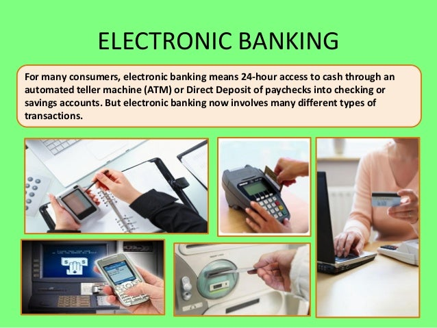 bank deposits electronic banking Use cnb electronic banking services to gain online access to accounts while you are at home, traveling, at work, or traveling.