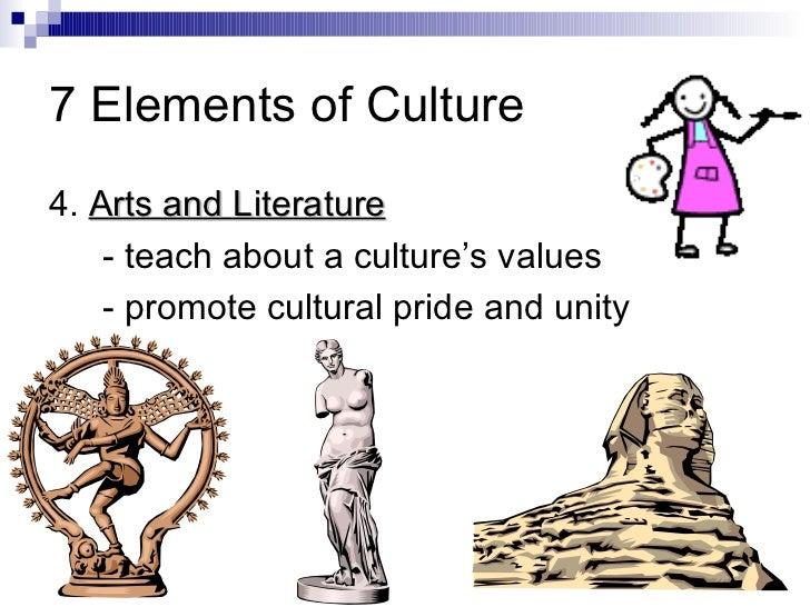 7 elements of literature
