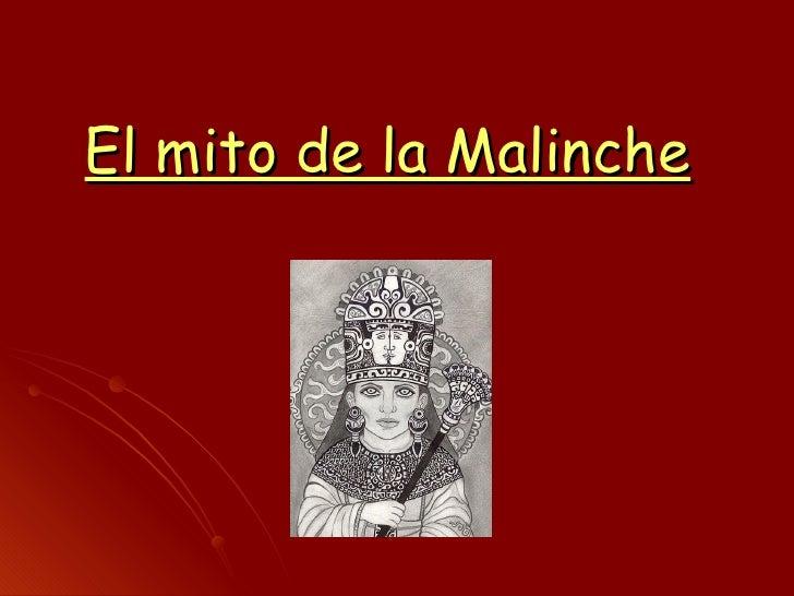 El mito de la Malinche