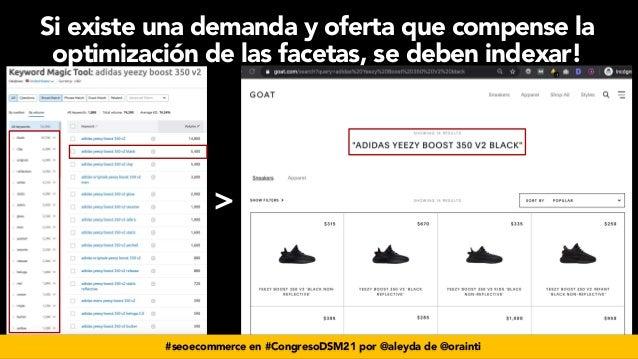 #seoecommerce en #CongresoDSM21 por @aleyda de @orainti > Si existe una demanda y oferta que compense la optimización de l...