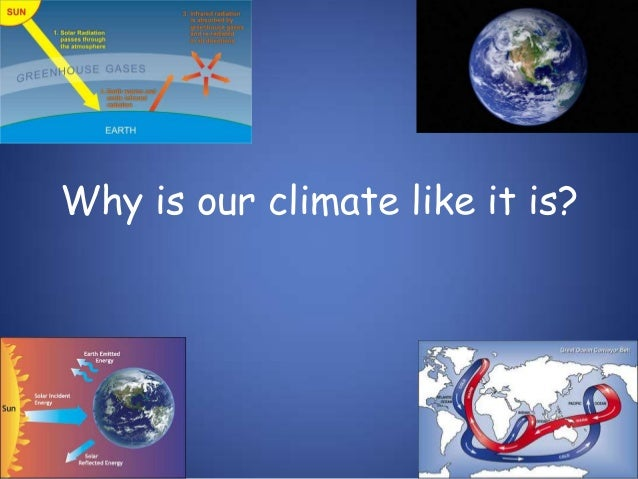 Why is our climate like it is?