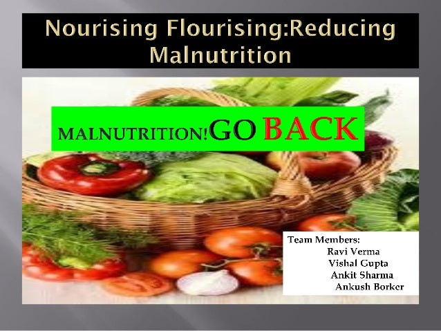 + Type and level of malnutrition BMI range (kg/m2) Obese 30.0+ Overweight 25.0 - 29.9 Normal 18.5 - 24.9 Undernutrition Mi...