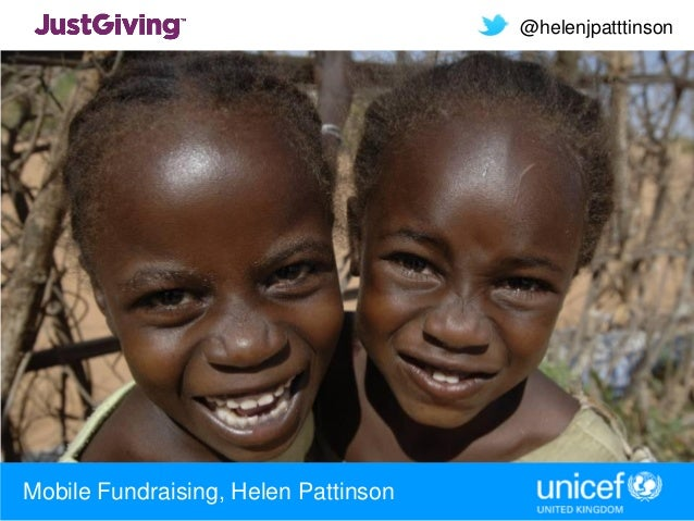 @helenjpatttinsonMobile Fundraising, Helen Pattinson