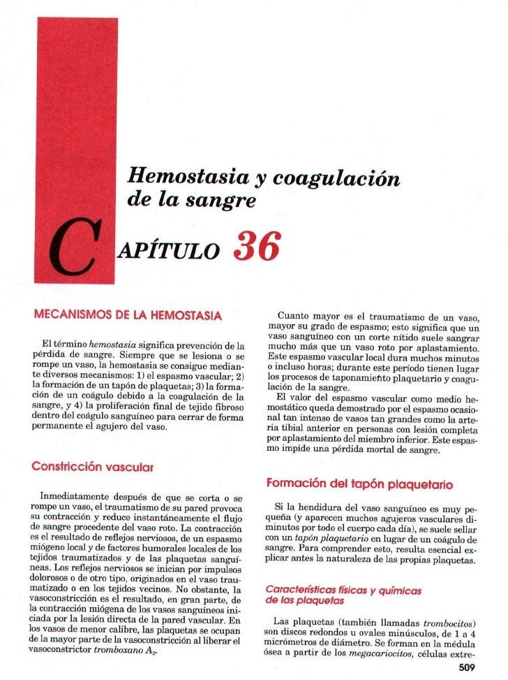 7. hemostasia y coagulación sangre