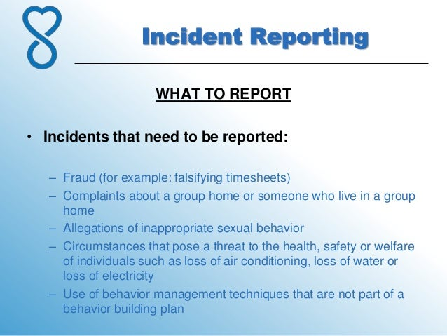 """How to Write a Good Accident or Incident Report"""