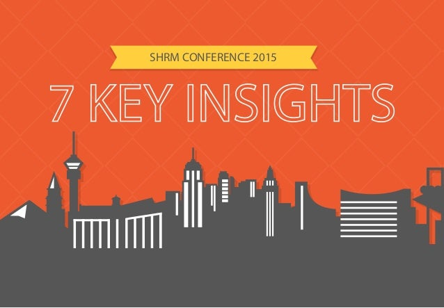 SHRM CONFERENCE 2015