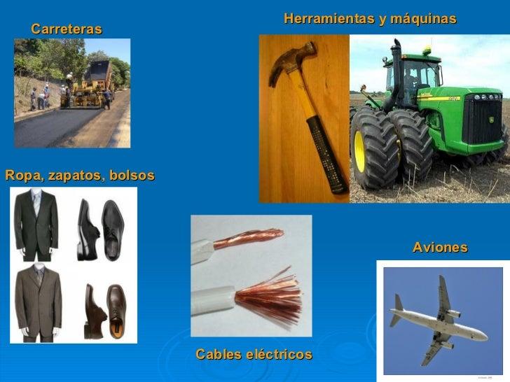 Carreteras Herramientas y máquinas Cables eléctricos Aviones Ropa, zapatos, bolsos