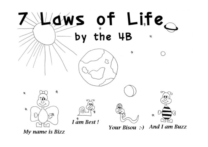 7 UNIVERSAL LAWS OF LIFE