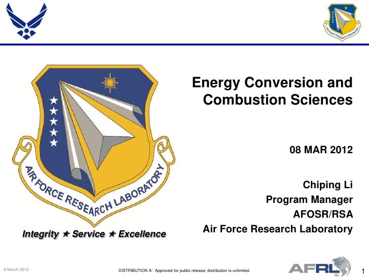 Energy Conversion and                                                                     Combustion Sciences             ...