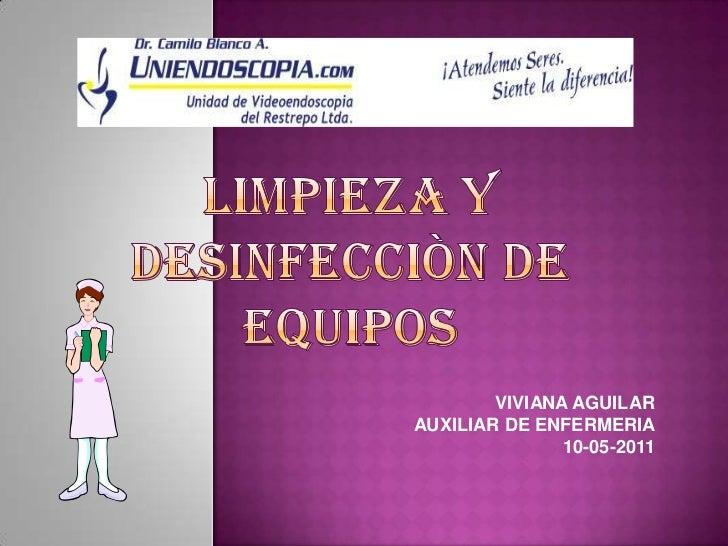 7 limpieza y desinfecci n de equipos 124 124 for Limpieza y desinfeccion de equipos