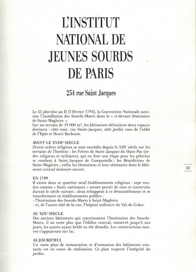 7 - l'institut national de jeunes sourds de paris