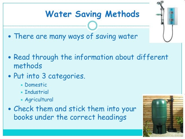 water usage essay The importance of water treatment  disclaimer: this essay has been submitted by a student  disinfection that is majorly in use to clean water.