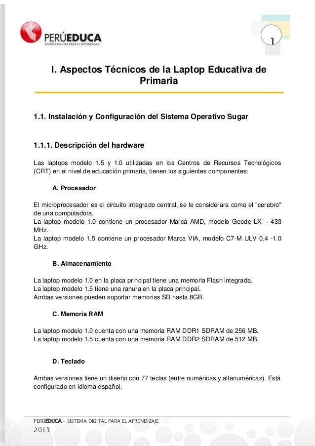 MANUAL LAPTOP XO PRIMARIA - PERUEDUCA Slide 3