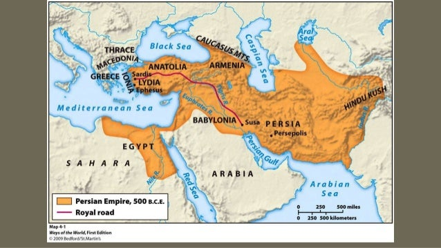 Map Collection Persian Empire And Alexander The Great