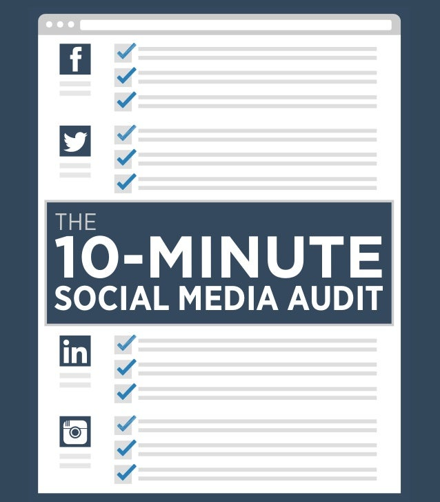 Digital Marketer Increase Engagement Series THE 10-MINUTE SOCIAL MEDIA AUDIT THE 10-MINUTE SOCIAL MEDIA AUDIT