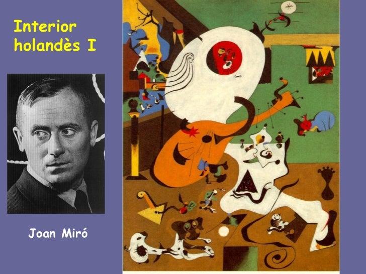 Interiorholandès I Joan Miró