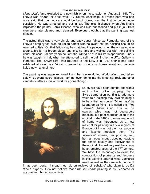 Mona Lisa's Secret by Ton Pascal Slide 3