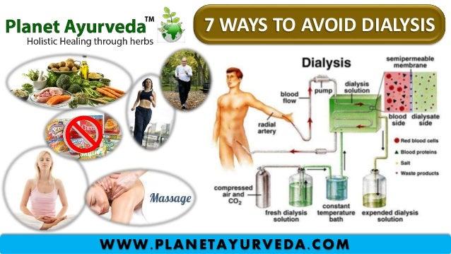 7 WAYS TO AVOID DIALYSIS WWW.PLANETAYURVEDA.COM