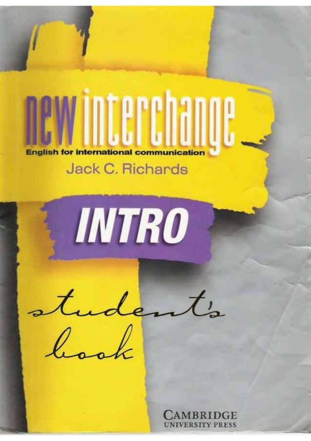 Interchange students book intro new