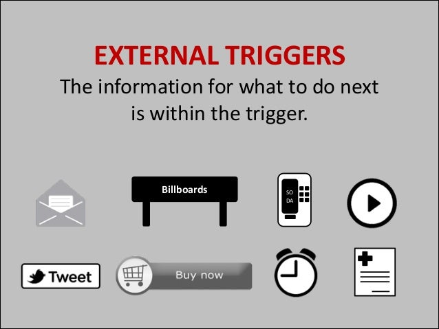 EXTERNAL	   TRIGGERS