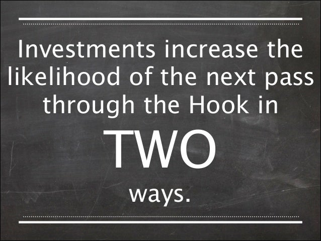 INVESTMENTS   LOAD  THE   NEXT  TRIGGER                 OF  THE  HOOK.  1.