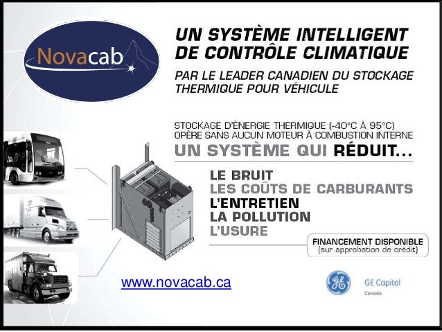 06/06/2013 Groupe Énerstat inc. 1www.novacab.ca