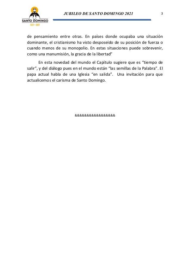 Organización de la Orden (Tras los pasos de Santo Domingo de Guzmán Nº 7) Slide 3