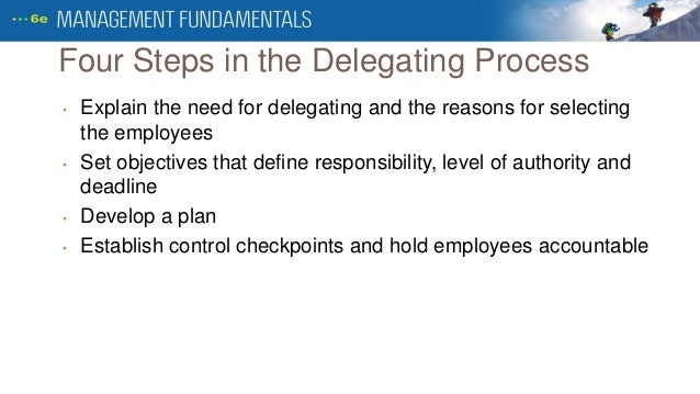 organising and delegating in the work Four functions of management: planning, organizing she will also need to delegate authority, assign work four functions of management: planning, organizing.