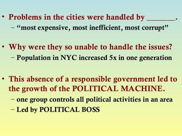 whats a political machine