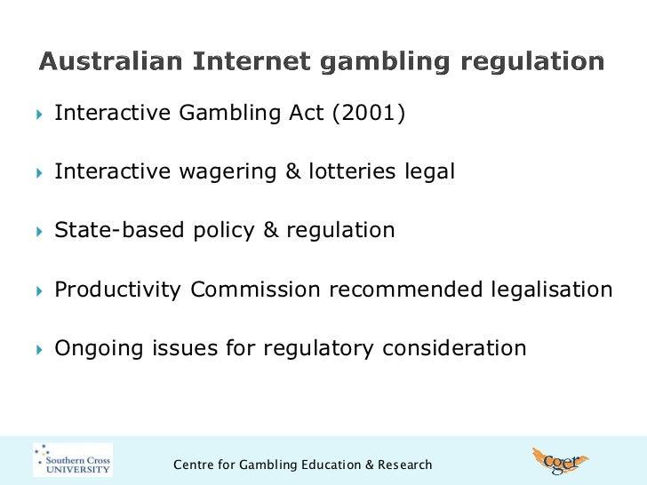 Interactive gambling act report gambling in lake charles