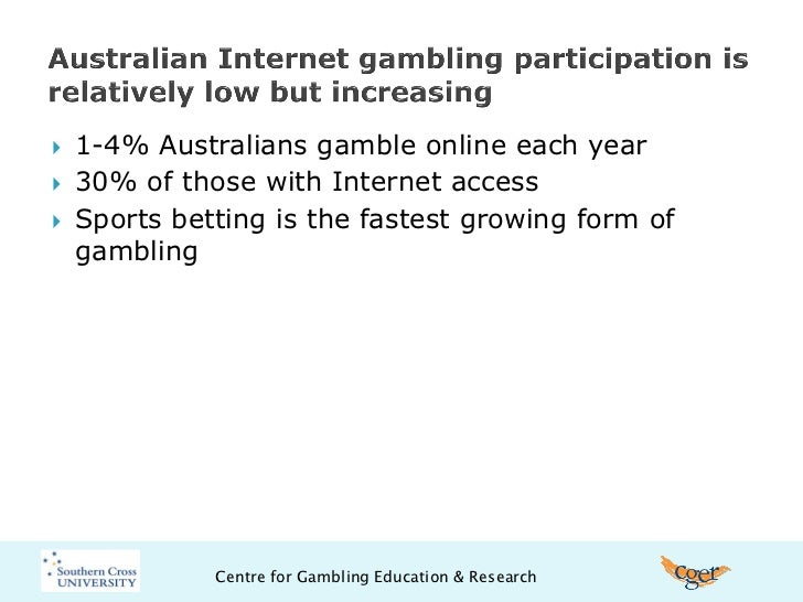 Online gambling thesis the first gambling