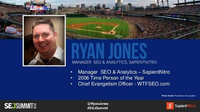 Ryan Jones of SapientNitro #SEJSummit: The Future is Today  Slide 3