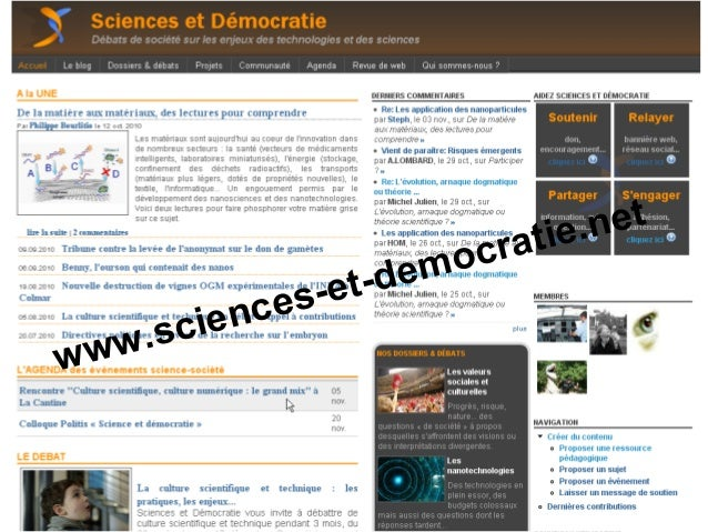 www.sciences-et-democratie.net