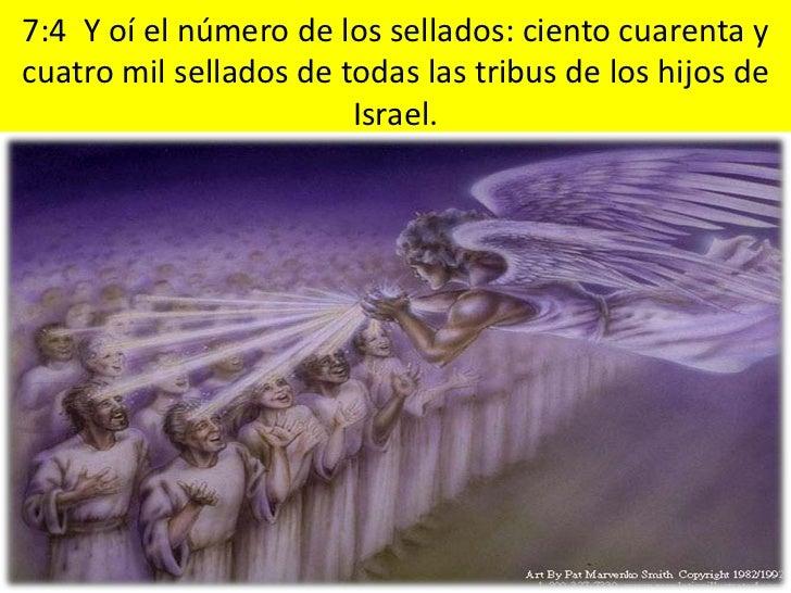 7:14 Yo le dije: Señor, tú lo sabes. Y él me dijo: Estos son los que han salido de la gran tribulación, y han  lavado sus ...
