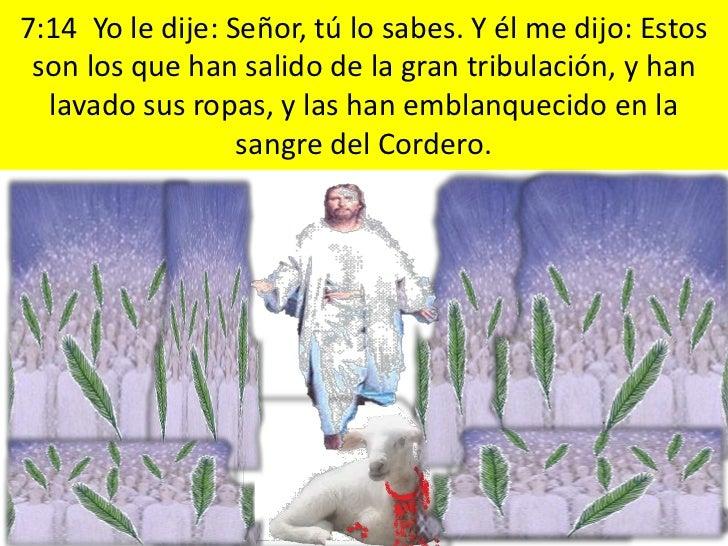 8:5 Y el ángel tomó el incensario, y lo llenó del fuego  del altar, y lo arrojó a la tierra; y hubo truenos, y        voce...
