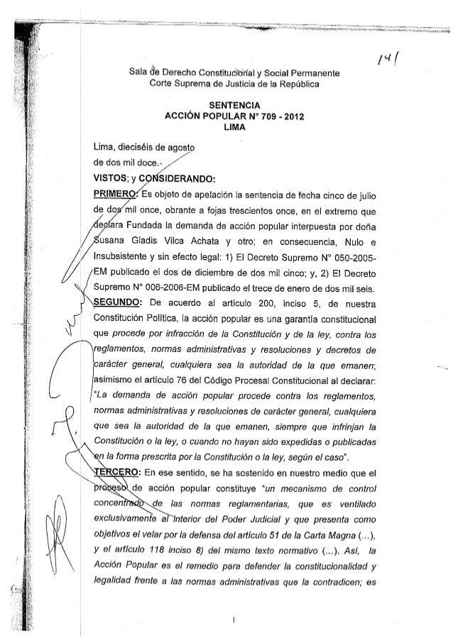 SENTENCIA RECUPERACION DEL LOTE 88 CAMISEA CORTE SUPREMA