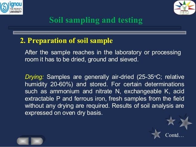 Soil sample preparation [image] | eurekalert! Science news.