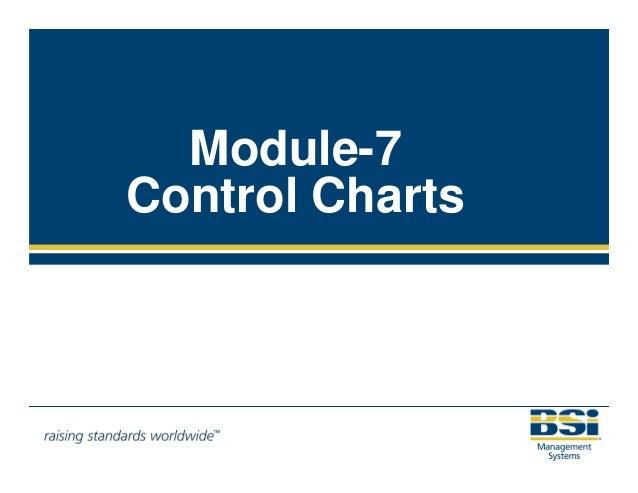 Module-7  Control Charts