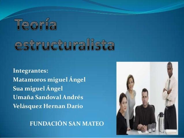 Integrantes:Matamoros miguel ÁngelSua miguel ÁngelUmaña Sandoval AndrésVelásquez Hernan Darío     FUNDACIÓN SAN MATEO