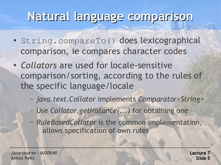 Java Locale  Letter Code
