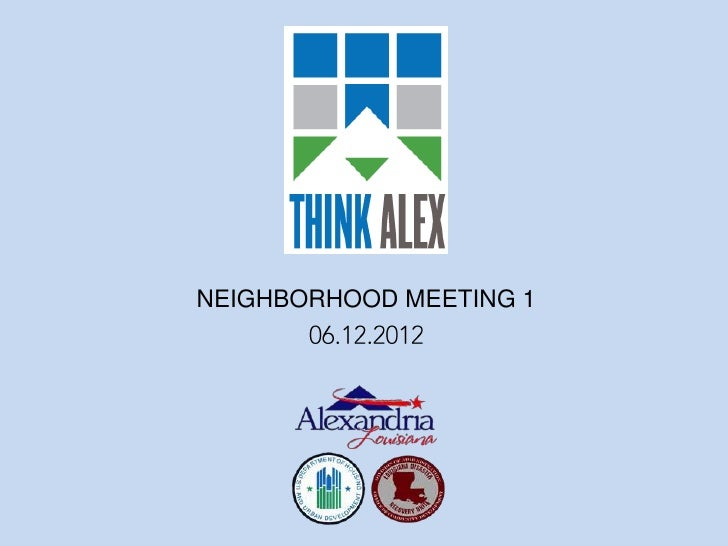 NEIGHBORHOOD MEETING 1