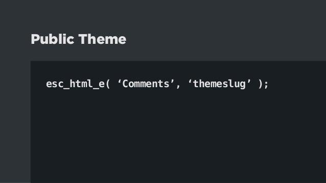 4.1. Study Default Themes