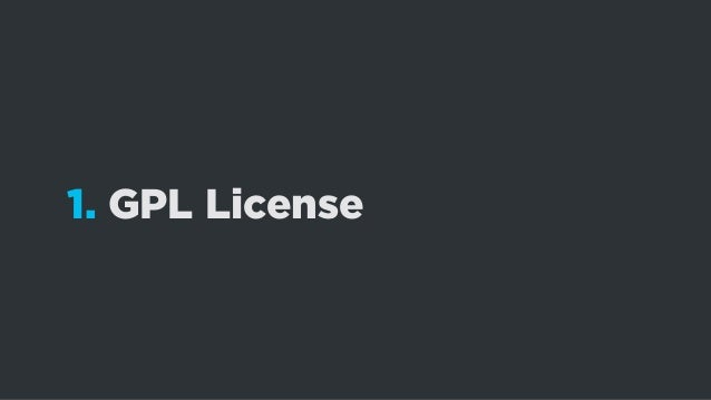 How To Make Sure Your Theme is GPL-friendly?