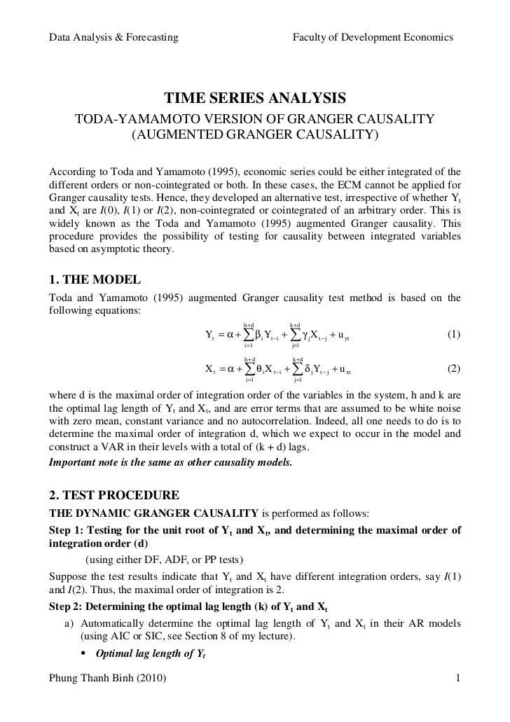 Data Analysis & Forecasting                                  Faculty of Development Economics                          TIM...
