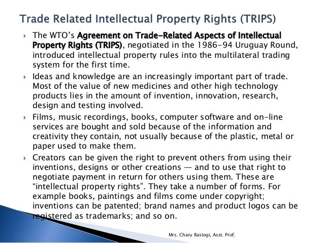 temporary monopolies and intellectual property rights essay Dime working papers on intellectual property rights sponsored by the emerging out.